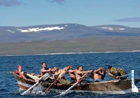 одноместная лодка у народов севера сканворд
